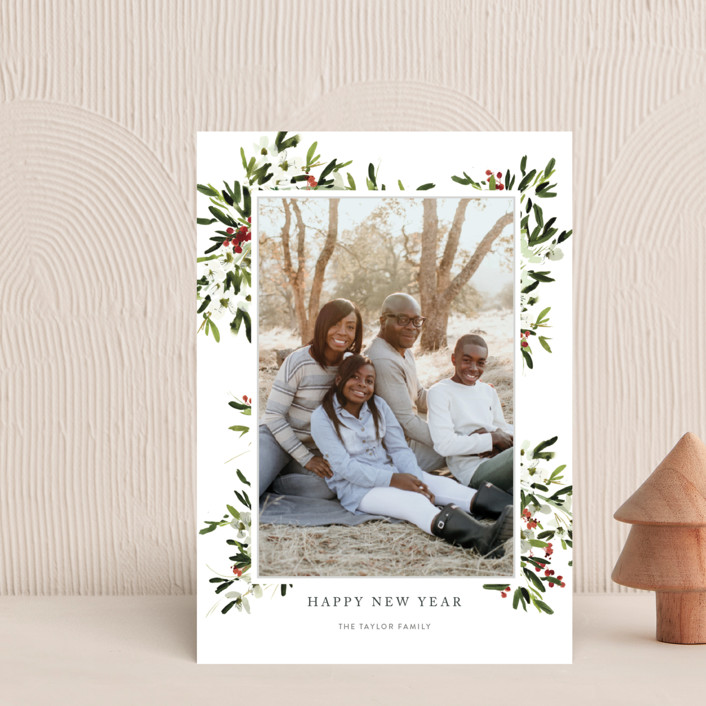 """""""winter bliss"""" - Holiday Petite Cards in Snow by Kelly Ventura."""
