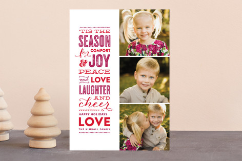 The Festive Type Holiday Petite Cards