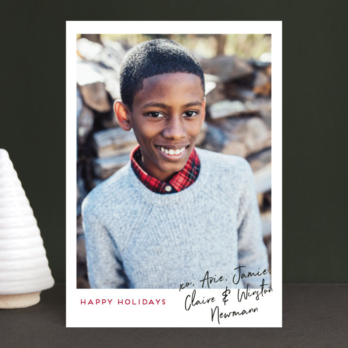 """""""Our Signature"""" - Holiday Petite Cards in Simply Berry by Kaydi Bishop."""