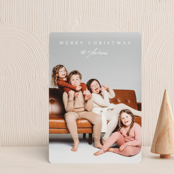 """""""Classical"""" - Holiday Petite Cards in Snow by Kasia Labocki."""