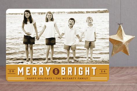 Retro Merry Holiday Petite Cards