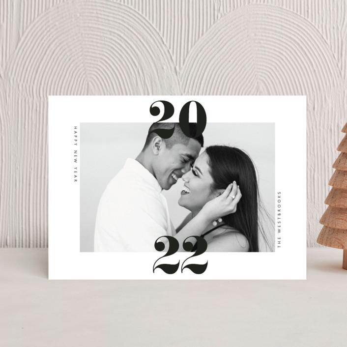 """""""twenty-twenty-one"""" - Holiday Petite Cards in Cloud by Erin Deegan."""