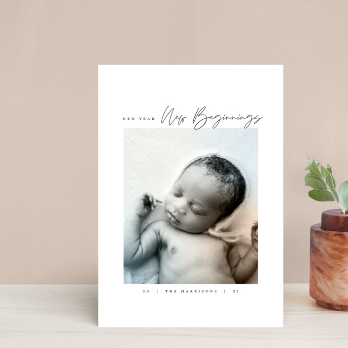"""""""Joyful Beginnings"""" - Holiday Petite Cards in Mocha by Heather Cairl."""