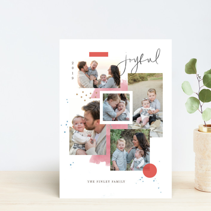 """""""Holiday Mood Board"""" - Holiday Petite Cards in Merry by Kristen Smith."""