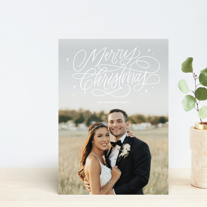 """""""Merry Shimmer"""" - Holiday Petite Cards in Frost by Kristen Smith."""