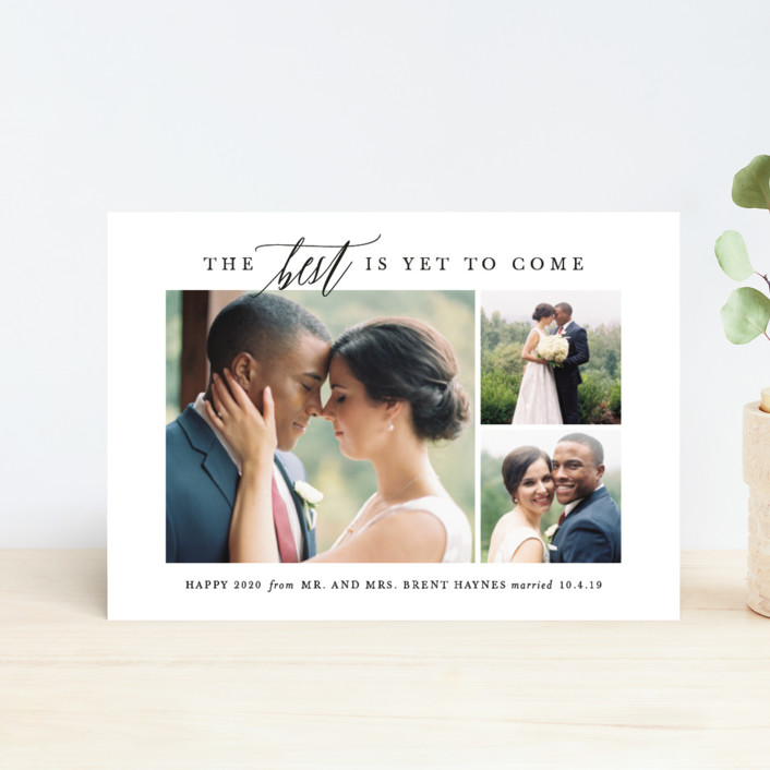 """To Come"" - Holiday Petite Cards in Tuxedo by Lauren Chism."