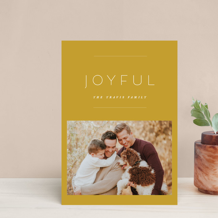 """""""the edit"""" - Holiday Petite Cards in Linen by Design Lotus."""