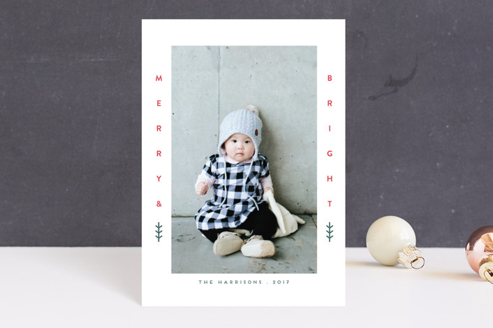 """Little Merry"" - Holiday Petite Cards in Berry by iamtanya."