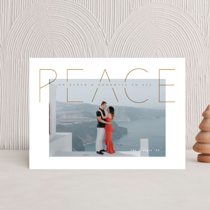 """""""Peace is good"""" - Holiday Petite Cards in Halo by Kann Orasie."""