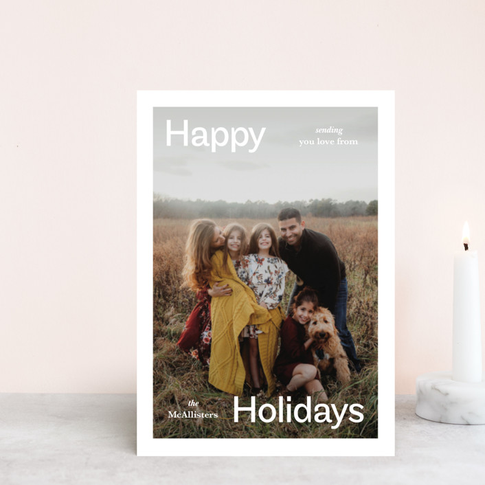 """""""Ad"""" - Holiday Petite Cards in Frost by Jack Knoebber."""