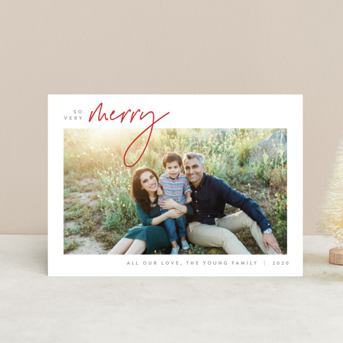 """""""Simplicity"""" - Holiday Petite Cards in Poinsettia by JoAnn Jinks."""
