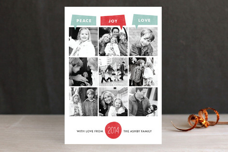 Year of Photos Holiday Petite Cards
