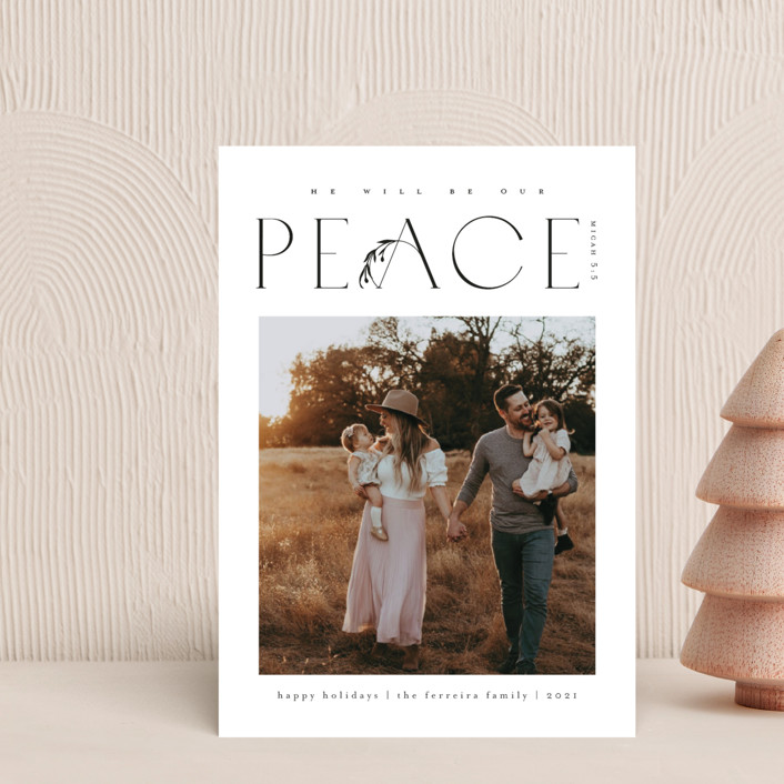 """""""He'll be our peace"""" - Holiday Petite Cards in Ink by Ana de Sousa."""