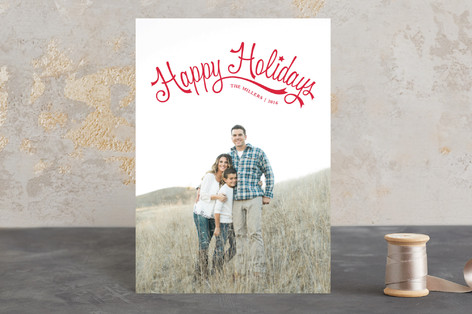 Merry Family Holiday Petite Cards