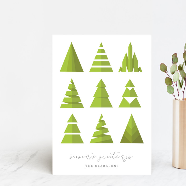 """""""Uniquely Trees"""" - Holiday Petite Cards in Tree by heythird."""