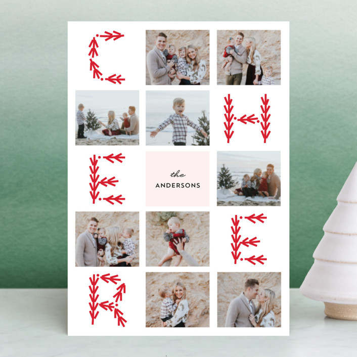 """""""Merry Collage"""" - Holiday Petite Cards in Holly by Anupama."""