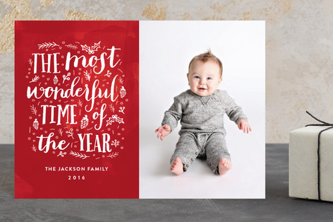 The Most Wonderful Time of the Year Holiday Petite Cards