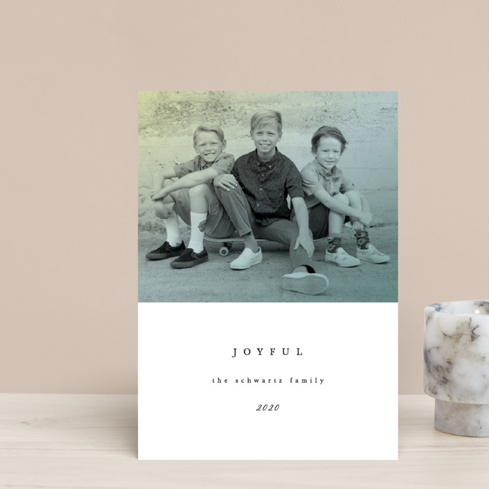 """""""Figure 8"""" - Holiday Petite Cards in Ivory by carly reed walker."""