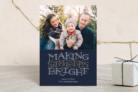 Brightest Spirits Holiday Petite Cards