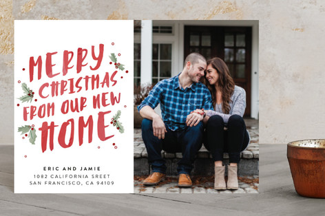 Holly Jolly Move Holiday Petite Cards