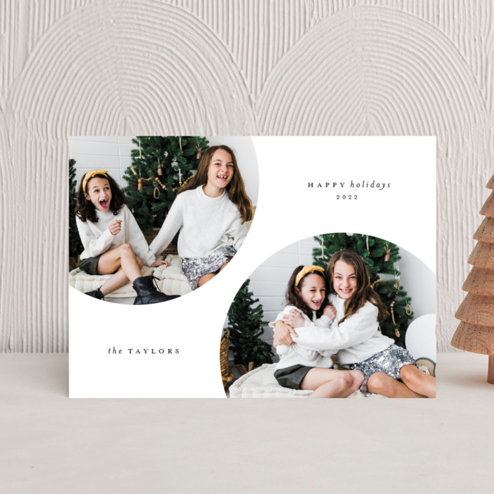 """""""Circulars"""" - Holiday Petite Cards in Cole by Kristel Torralba."""