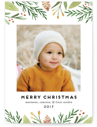 Golden Berries Holiday Petite Cards