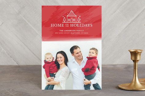 Happy New Home Holiday Petite Cards