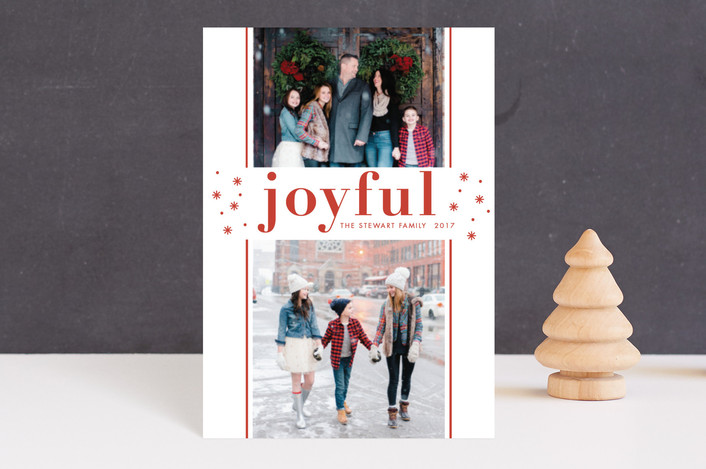 """""""So Merry"""" - Holiday Petite Cards in Rouge by Bethan."""