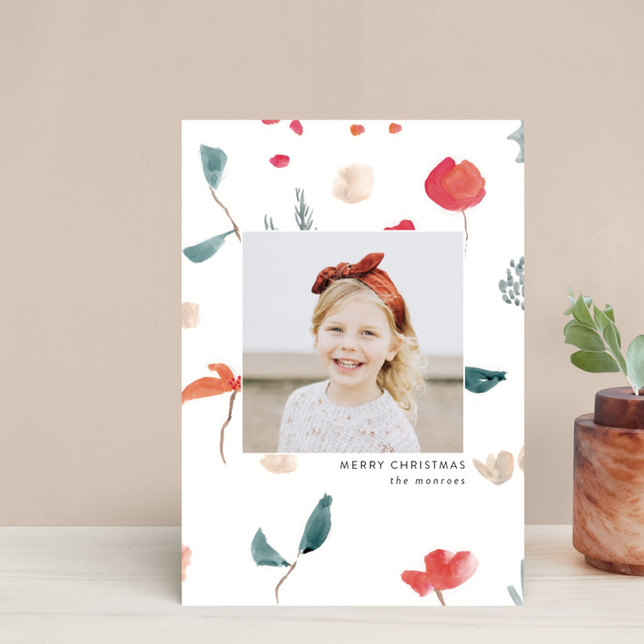 """""""Christmas Sketch"""" - Holiday Petite Cards in Snow by Lindsay Megahed."""