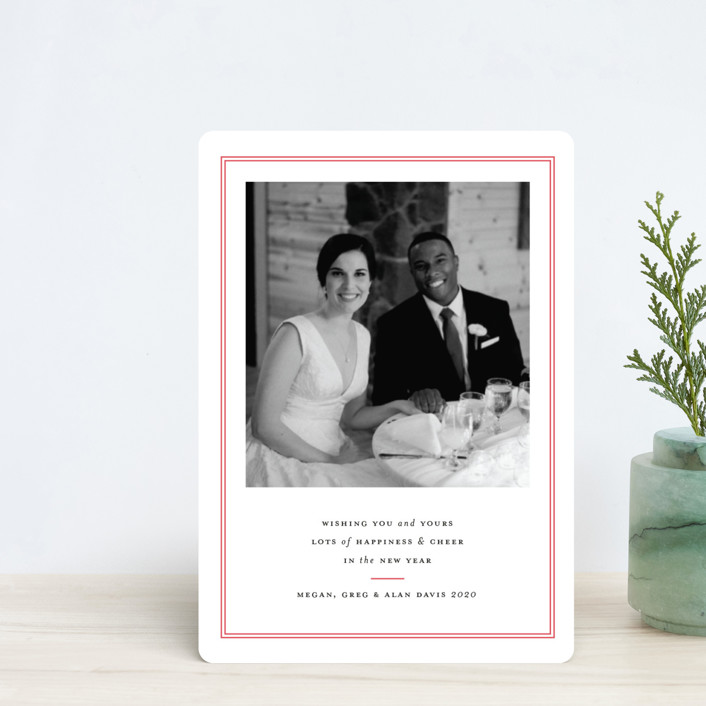"""Pure Joy"" - Holiday Petite Cards in French Blue by Toast & Laurel."