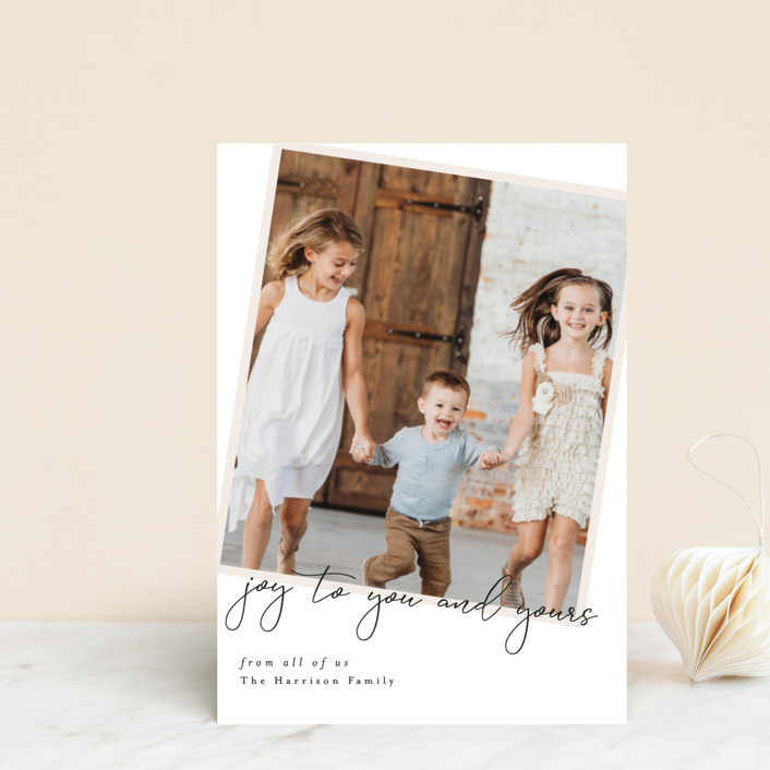 """""""You and Yours"""" - Holiday Petite Cards in Eggnog by Ella Weaver."""
