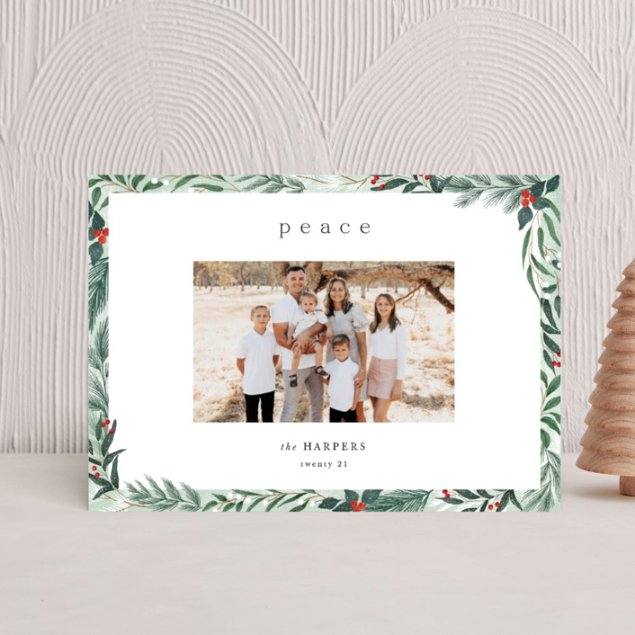 """""""Frosty"""" - Holiday Petite Cards in Mint by Elly."""