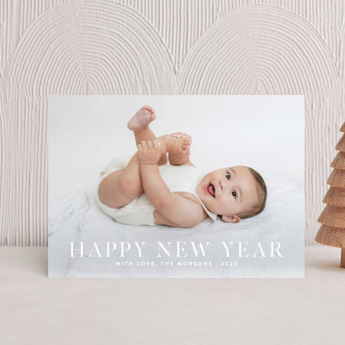"""""""Happiness"""" - Holiday Petite Cards in Cashmere by Angela Thompson."""