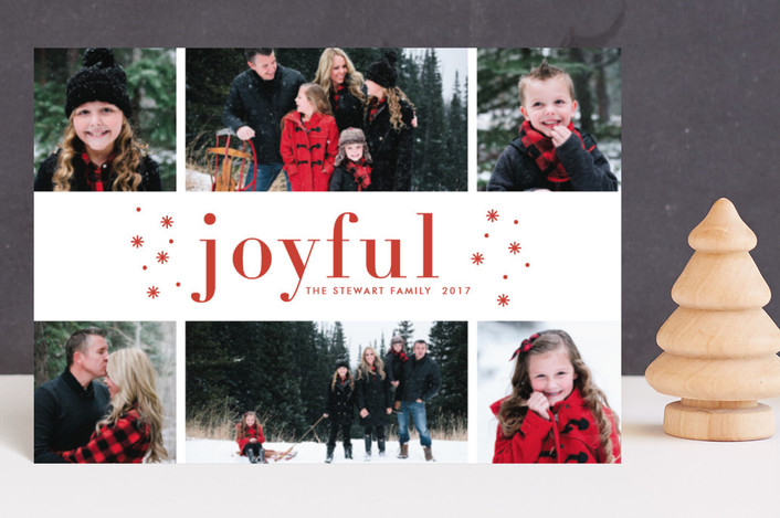 """""""So Merry"""" - Holiday Petite Cards in Berry by Bethan."""