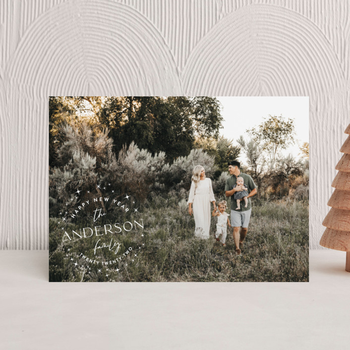 """""""Stardusted Name"""" - Holiday Petite Cards in Snow by Robin Ott."""
