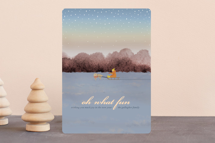 """""""Jingle All the Way"""" - Holiday Petite Cards in Dusk by Shannon."""