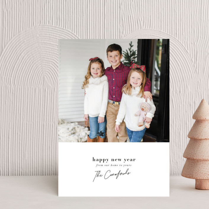 """""""Signature Greeting"""" - Holiday Petite Cards in Snow by Meggy Masters."""