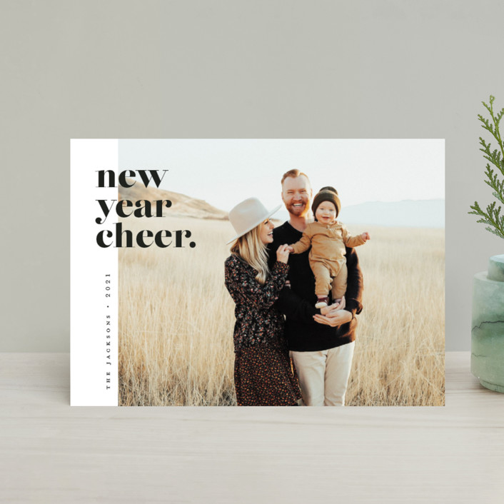 """""""the edit"""" - Holiday Petite Cards in Polar Bear by Pink House Press."""