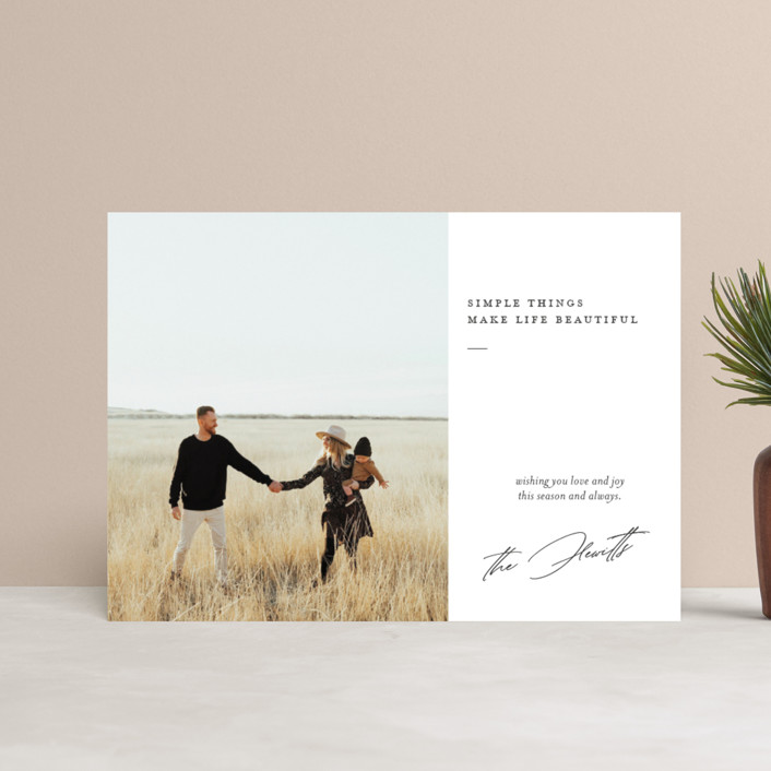 """""""life is beautiful"""" - Holiday Petite Cards in Winter by Eric Clegg."""