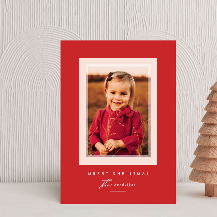 """""""Prism"""" - Holiday Petite Cards in Holly Berry by Jessica Williams."""