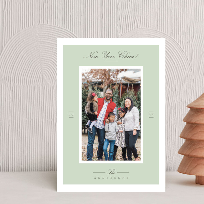 """Effortless Charm"" - Holiday Petite Cards in Mist by Tatiana Nogueiras."