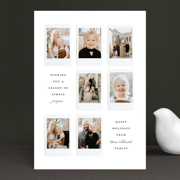 """""""Instant Gallery"""" - Holiday Petite Cards in North Star by Olivia Kanaley."""