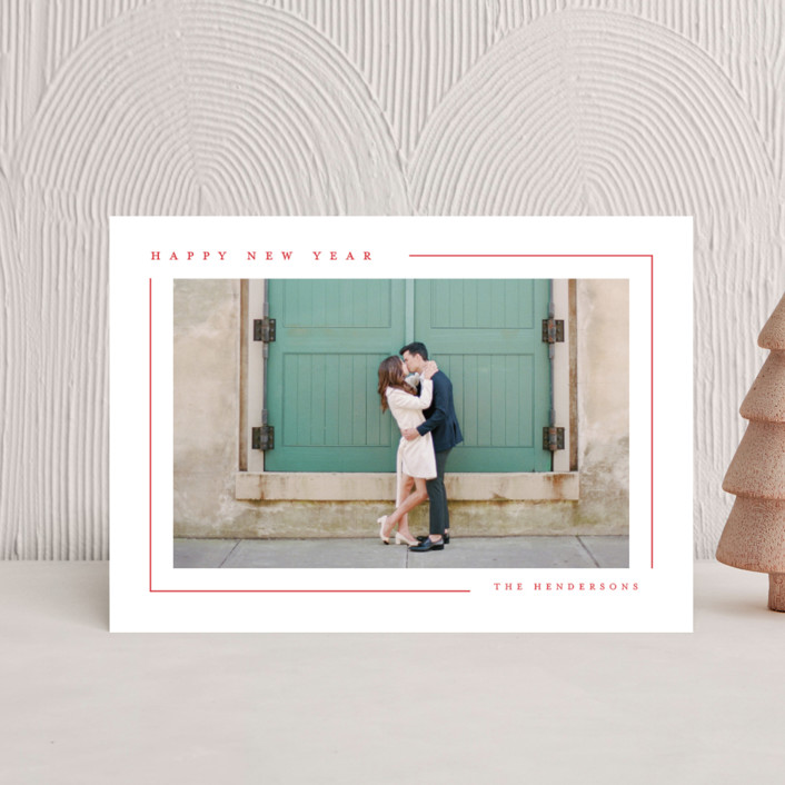 """Simply Serene"" - Holiday Petite Cards in Snow by Lauren Chism."