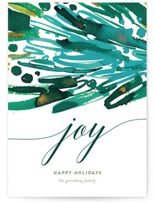 Joy Stack Holiday Petite Cards
