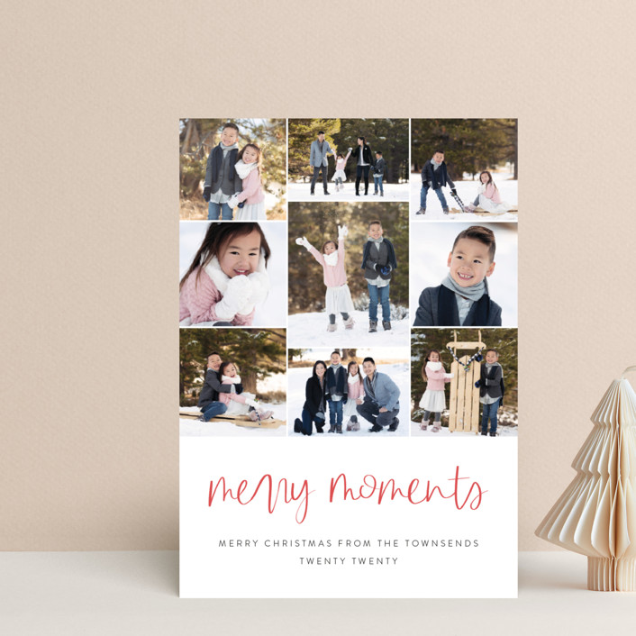 """""""Our Merry Moments"""" - Holiday Petite Cards in Candy Cane by Jessica Maslyn."""