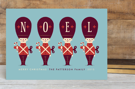 Toy Soldiers Holiday Petite Cards