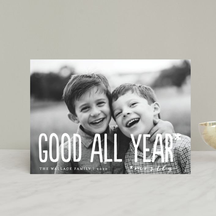 """Good All Year"" - Holiday Petite Cards in Snowflake by Amy Payne."