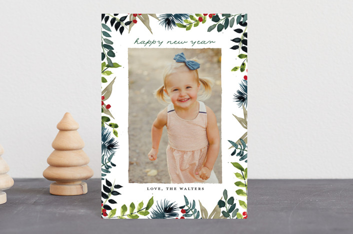 """""""Winter Whimsy"""" - Holiday Petite Cards in Fern by Lindsay Megahed."""
