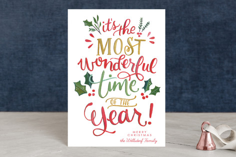Most Wonderful Everything Holiday Petite Cards