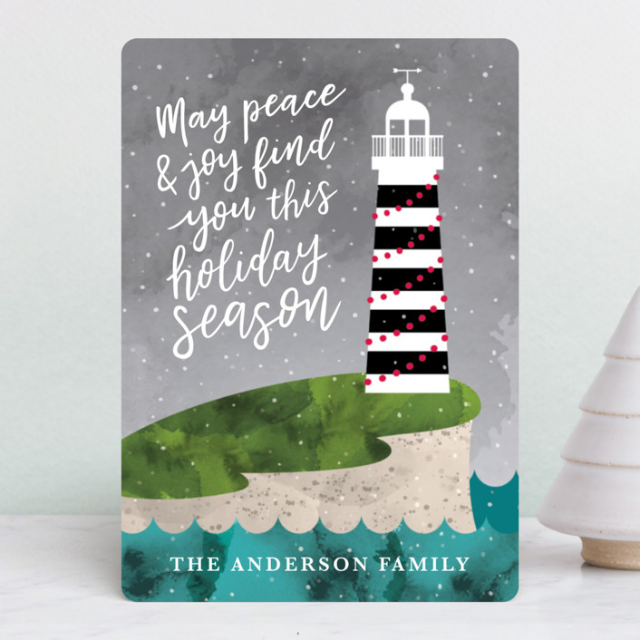 """Find You"" - Holiday Petite Cards in Stormy Eve by Chelsey Adams."